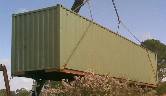 WAMRC Container