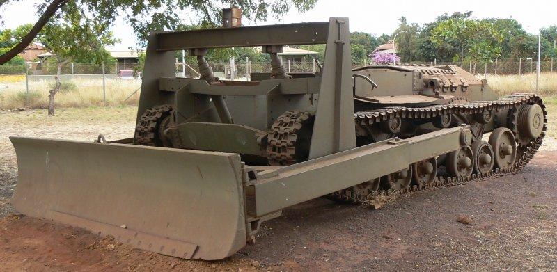 converted valentine tank