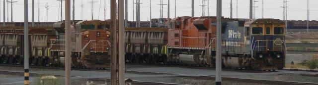 Iron ore locos